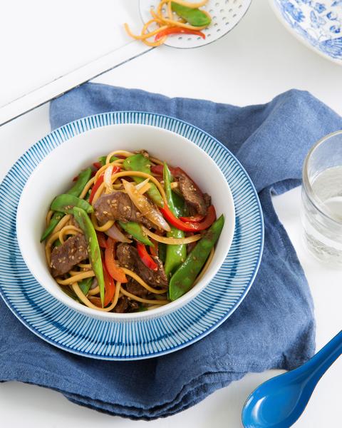 Beef & Sesame Teriyaki Noodles