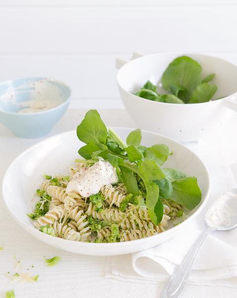 Broccoli Pasta with Chilli Ricotta