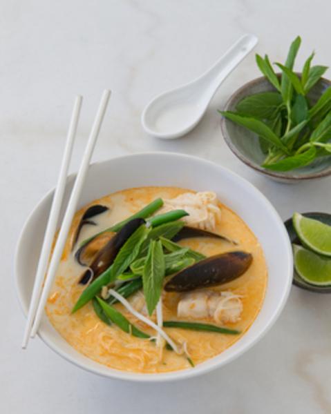 Thermomix Seafood Laksa