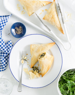 Thermomix Spinach & Ricotta Filo Parcels