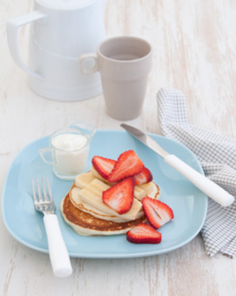 Thermomix Breakfast Buttermilk Pancakes