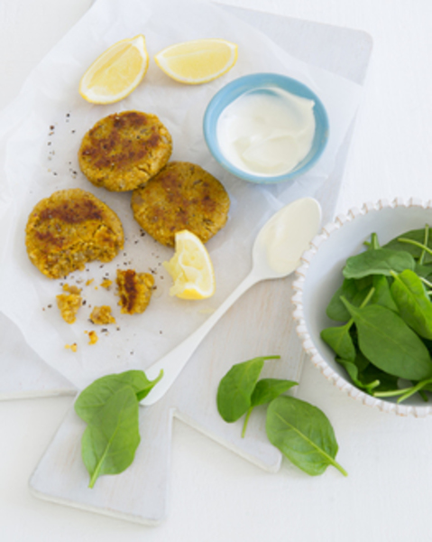 Thermomix Curried Chickpea & Pumpkin Patties