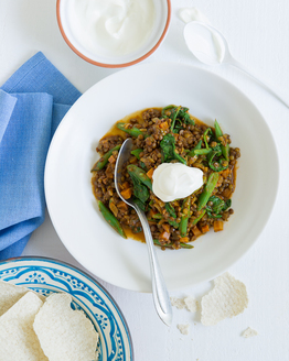 Thermomix Green Lentil Curry with Spinach