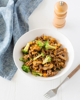 One Pot Mince and Vegies