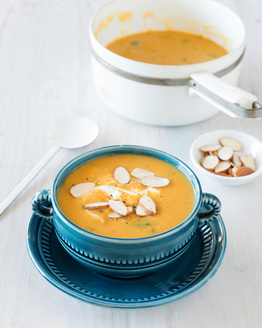 Sweet Potato & Cannellini Bean Soup
