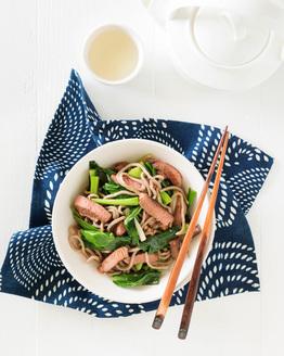 Hoisin Lamb & Noodles