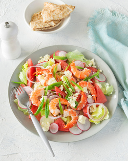 Prawn & Watermelon Salad