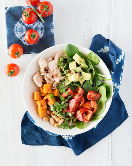 Sweet Potato & Tuna Poke Bowl