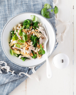 Pasta with Chicken & Broccolini