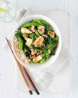 Tofu & Greens Stir-fry