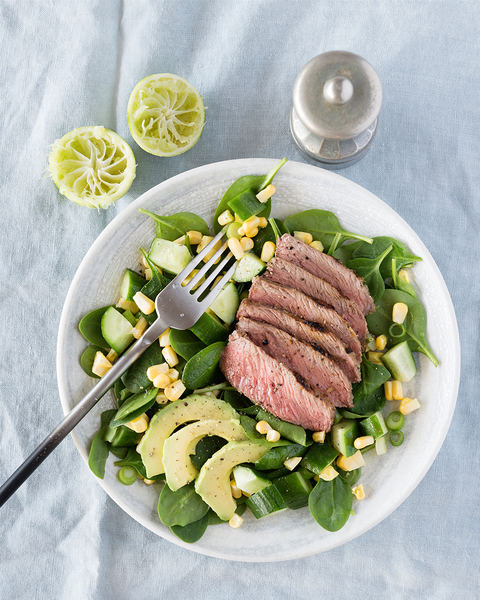 Grilled Beef with Lemongrass & Lime