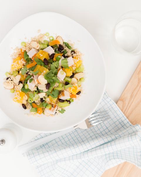 Apricot Chicken Couscous Salad