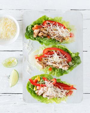 Chicken & Lettuce 'Tacos'