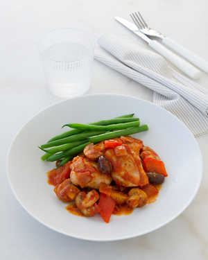 Low FODMAP Chicken Cacciatore