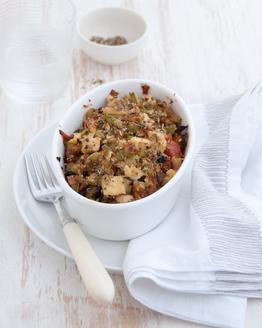 Tofu, Eggplant & Vegie Mess