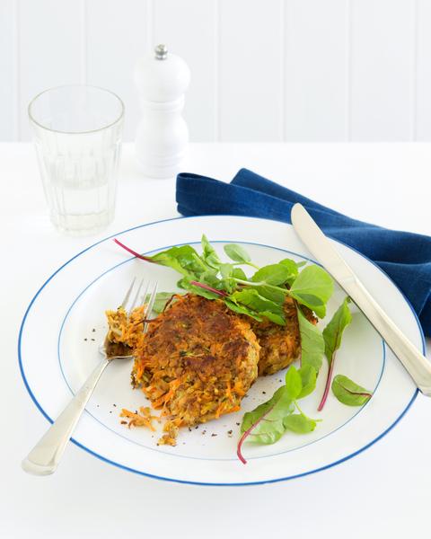 Low FODMAP Vegetarian Rissoles