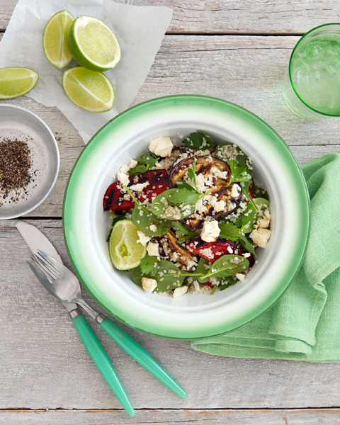 Low FODMAP Chargrilled Vegetable & Salad