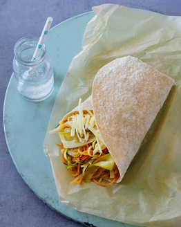 Pulled Vegie Wraps