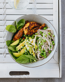 Curried Chicken Noodle Bowl