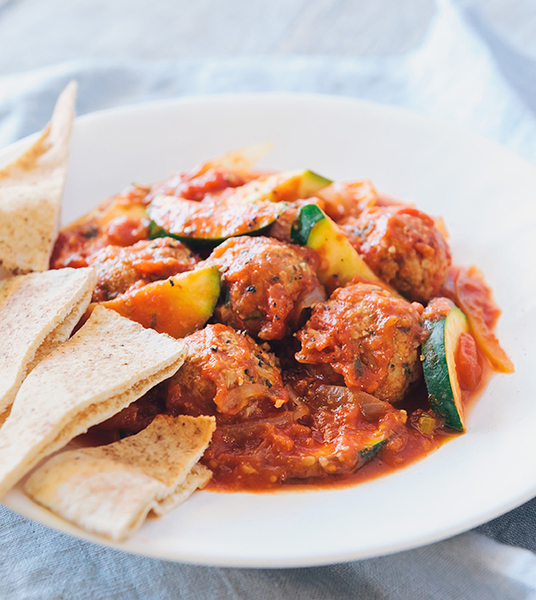 Family Speedy Moroccan Meatballs