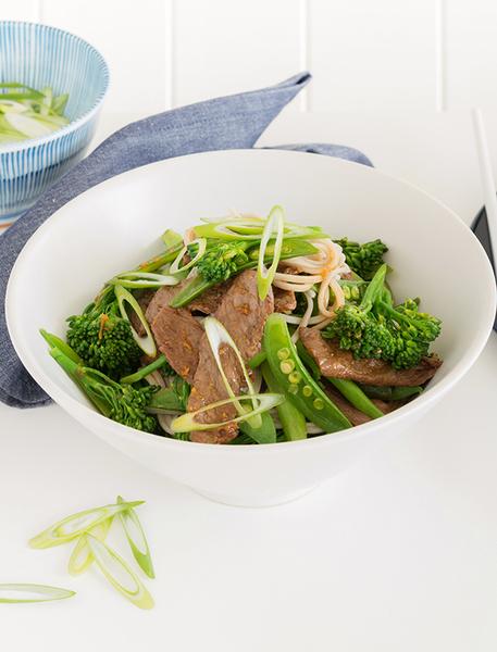 Family Beef & Sesame Teriyaki Noodles