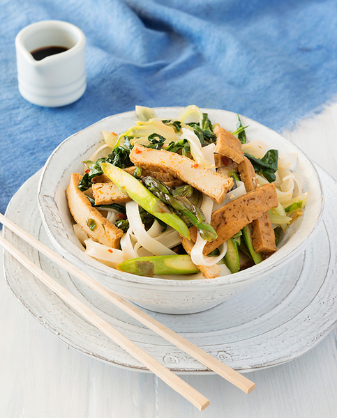 Family Chilli Noodles with Tofu