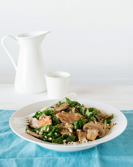Pork & Kale Stir-fry