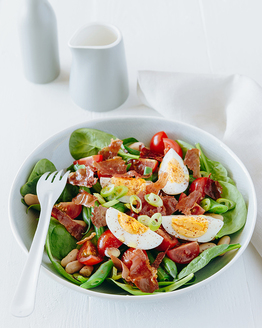 Bean & Egg Salad