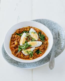 Lentil & Egg Curry