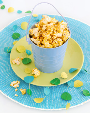 Healthy Cheesy Barbeque Popcorn