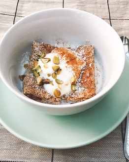 Weet-Bix with Coconut & Pistachio for Two