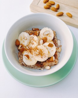 Weet-Bix with Banana & Almond for 1