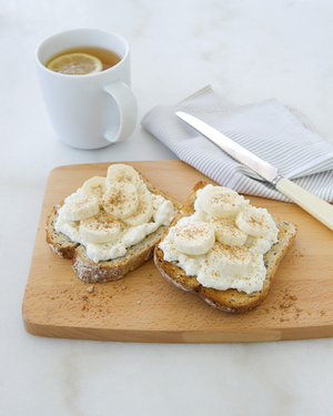 Banana Bruschetta