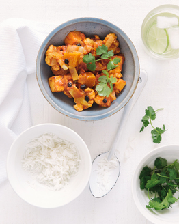 Paneer & Cauliflower Curry