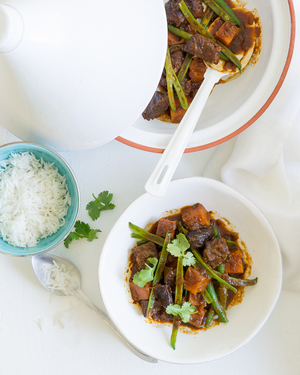 Beef, Pumpkin & Prune Tagine