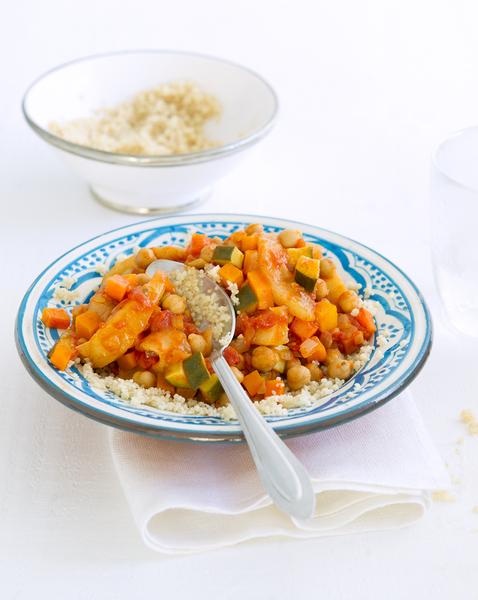 Chickpea & Pear Vegetable Tagine