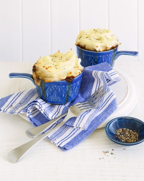 Beef & Guinness Pie with Potato Topping