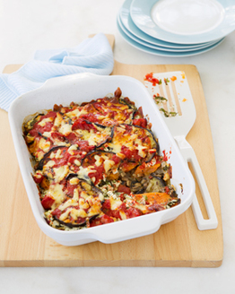 Sweet Potato & Eggplant Bake