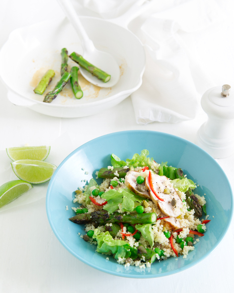 Couscous Salad with Chilli Lime Chicken