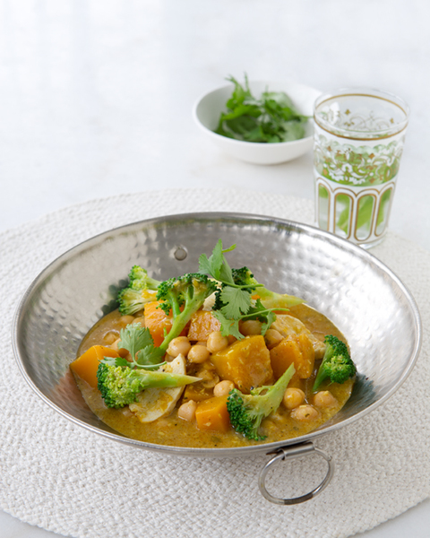 Chicken, Pumpkin & Chickpea Korma