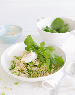 Broccoli Pasta with Chilli Ricotta
