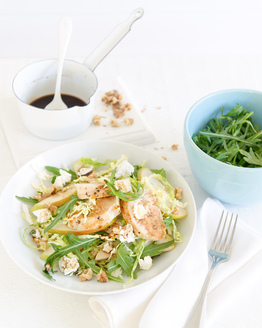 Chicken & Pear Cabbage Salad