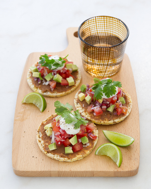 Vegetarian Taco Corn Thins