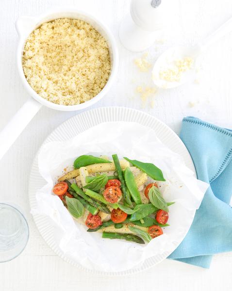 Tofu & Vegetable Parcels