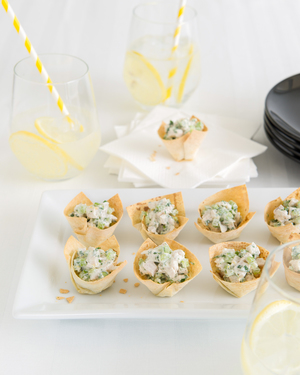 Chicken & Herb Tarts