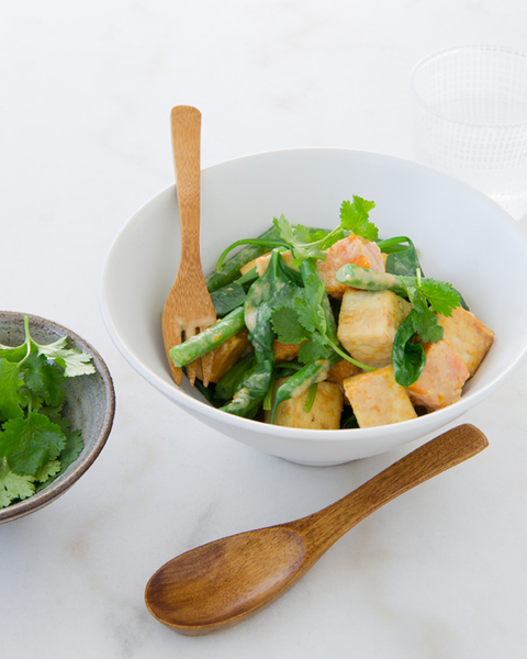 Thai Tofu Green Curry