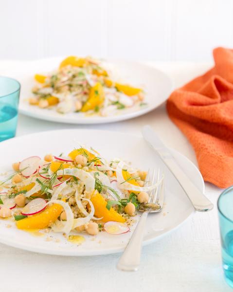 Fennel, Orange, Chickpea & Quinoa Salad