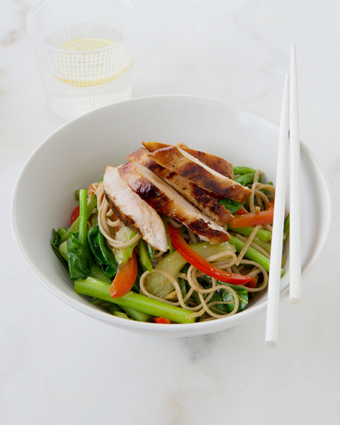 Teriyaki Chicken & Vegetable Stir-fry with Noodles