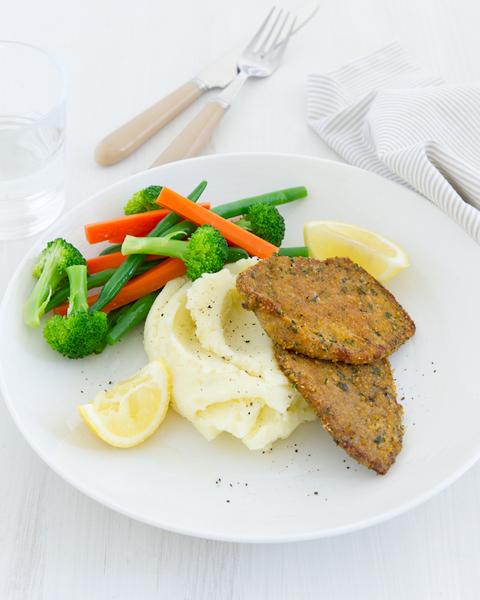 Herb & Parmesan Veal Schnitzel