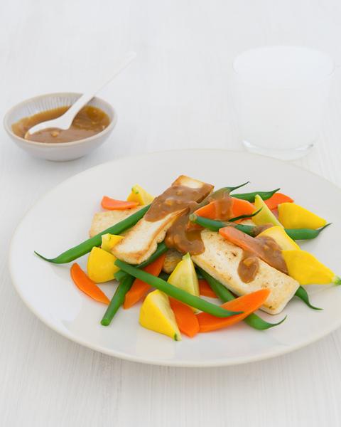 Satay Tofu & Vegetables